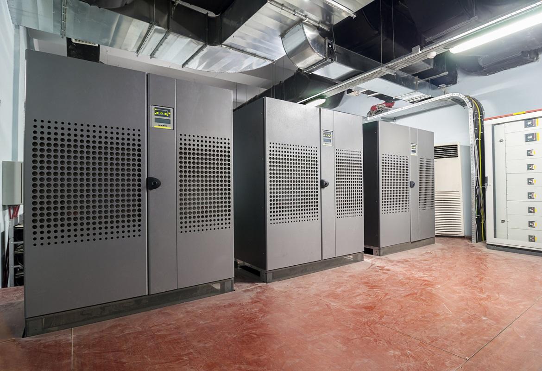 ambiente tecnico per UPS e batterie stazionarie